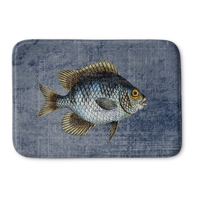 Ellenburg Rectangle Memory Foam Bath Rug Size: 24 W x 36 L