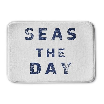 Barbra Seas The Day Memory Foam Bath Mat Size: 17 W x 24 L
