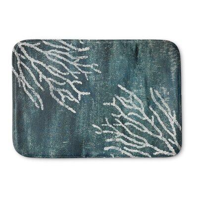 Rosia Memory Foam Bath Mat Size: 24 W x 36 L, Color: Aqua