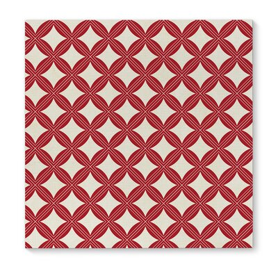 'Christmas in Plaid Red 2' Graphic Art Print on Canvas