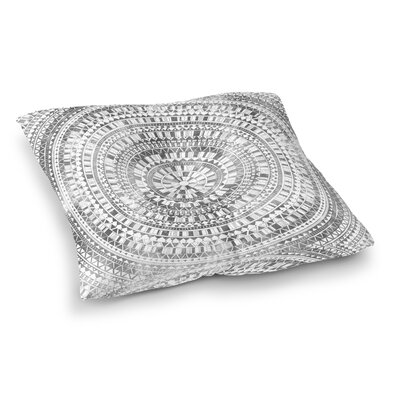 Kangana Bohemian Double Sided Print Floor Pillow Size: 23 H x 23 W, Color: Gray