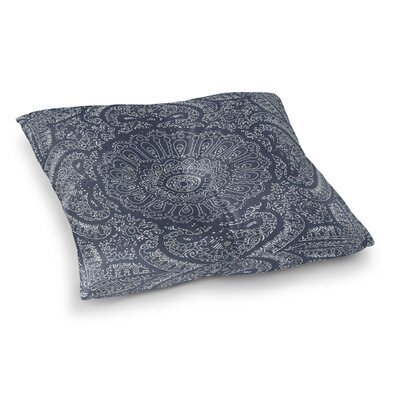 Kangana Double Sided Print Microfiber Floor Pillow Size: 23 H x 23 W