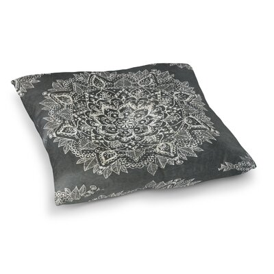 Kangana Indoor/Outdoor Floor Pillow Size: 23 H x 23 W, Color: Ivory