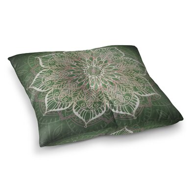Kangana Bohemian Double Sided Print Microfiber Floor Pillow Size: 26 H x 26 W