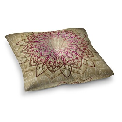 Kangana Square Floor Pillow Size: 23 H x 23 W