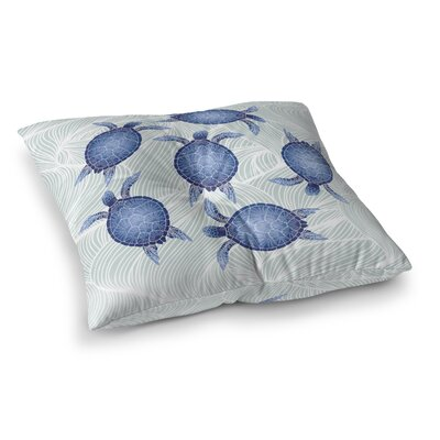 Crenshaw Floor Pillow Size: 23 H x 23 W
