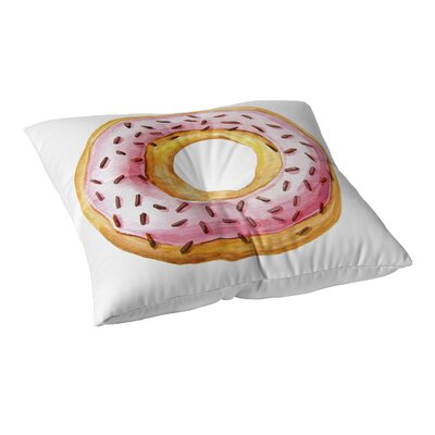 Donut Floor Pillow Size: 23 H x 23 W
