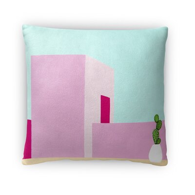 Dyer Avenue Throw Pillow Size: 16 x 16