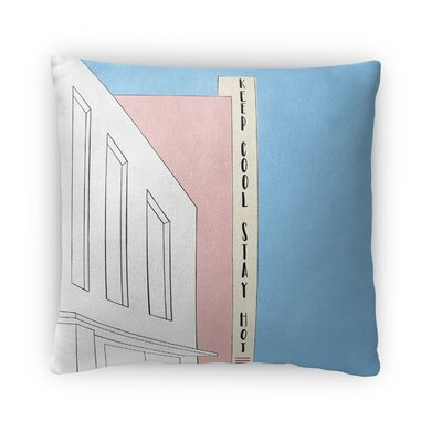 Dusek Keep Cool Throw Pillow Size: 16 x 16