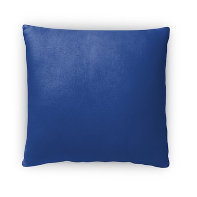Danhui Leaves Throw Pillow Size: 18 x 18