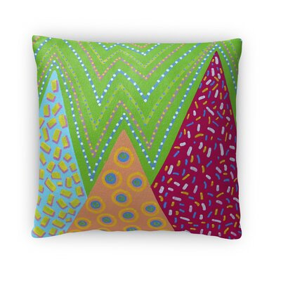 Dutcher Pattern Throw Pillow Size: 16 x 16