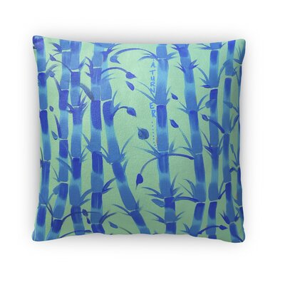 Sparkhawk Bamboo Throw Pillow Size: 16 x 16