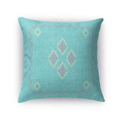 Stellan Accent Throw Pillow Size: 18 x 18, Color: Aqua