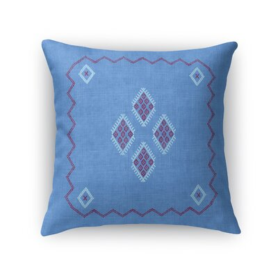 Stellan Accent Throw Pillow Size: 18 x 18, Color: Indigo