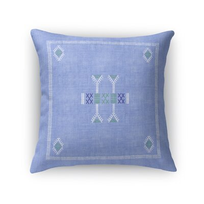 Morro Accent Throw Pillow Size: 18 x 18, Color: Blue