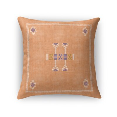 Morro Accent Throw Pillow Size: 18 x 18, Color: Orange