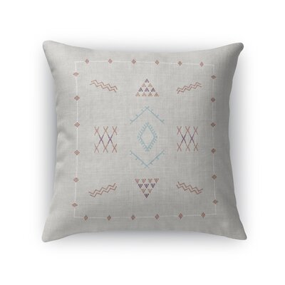 Rogers Accent Throw Pillow Size: 24 x 24, Color: Light Gray
