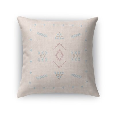 Rogers Accent Throw Pillow Size: 24 x 24, Color: Peach