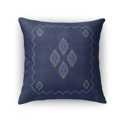 Stellan Accent Throw Pillow Size: 18 x 18, Color: Navy