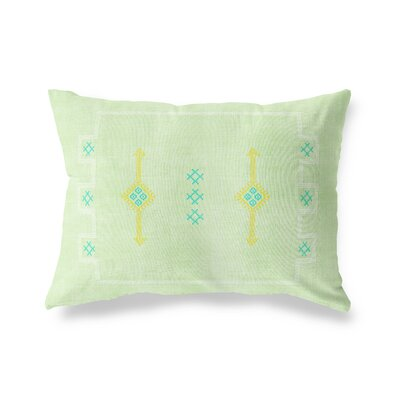 Stellan Rectangular Lumbar Pillow Size: 12 x 16, Color: Sage