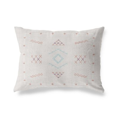Rogers Outdoor Lumbar Pillow Color: Peach