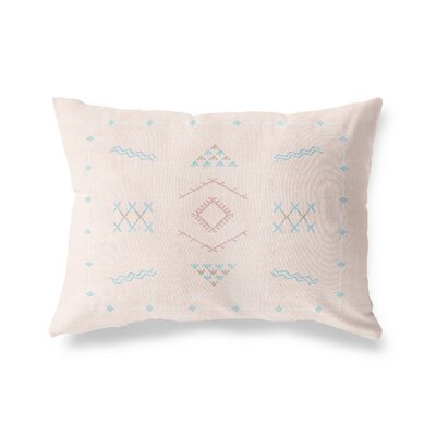 Rogers Lumbar Pillow Size: 12 x 16, Color: Peach