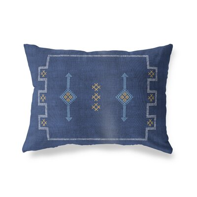 Stellan Rectangular Lumbar Pillow Size: 18 x 24, Color: Navy