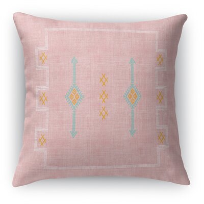 Stellan Accent Square Throw Pillow Size: 16 x 16, Color: Blush