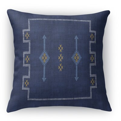 Stellan Accent Square Throw Pillow Size: 18 x 18, Color: Navy