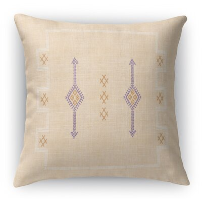 Stellan Accent Square Throw Pillow Size: 16 x 16, Color: Tea
