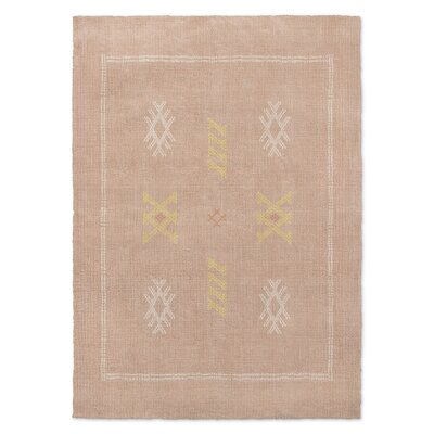 Touete Kilim Dusty Rose Area Rug Rug Size: 3 x 5