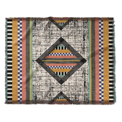 Wiggins Woven Blanket Size: 60 W x 80 L