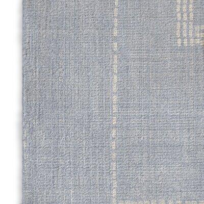 Stellan Silk Blue Area Rug Rug Size: 2 x 3