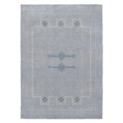 Stellan Silk Blue Area Rug Rug Size: 3 x 5