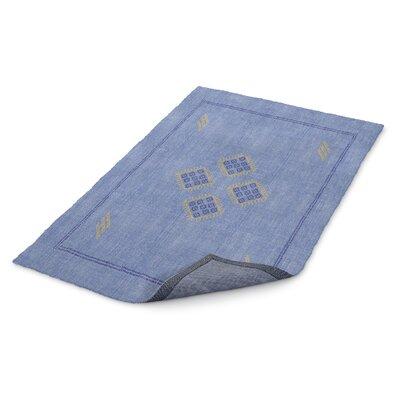 Stellan Kilim Blue Area Rug Rug Size: 3 x 5
