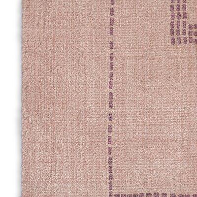 Stellan Silk Pink Area Rug Rug Size: 2 x 3