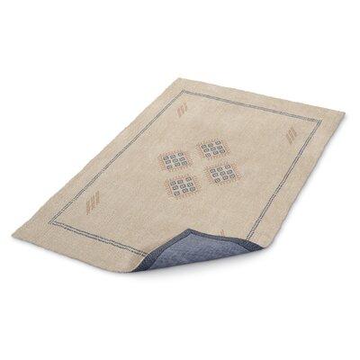 Stellan Kilim Beige Area Rug Rug Size: 3 x 5