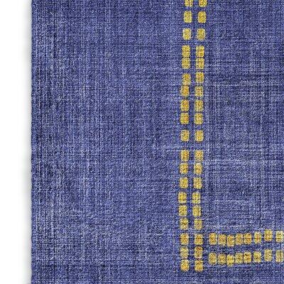 Stellan Kilim Blue Area Rug Rug Size: 5 x 7