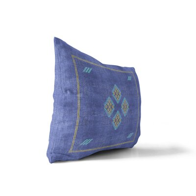 Melillo Lumbar Pillow Color: Bright Indigo