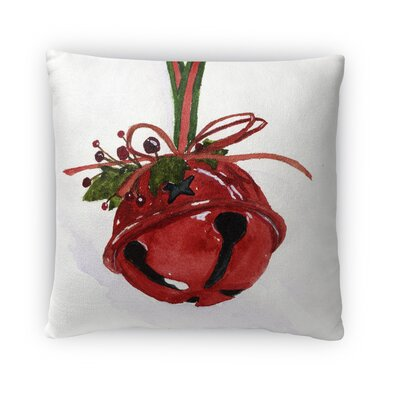 Bell Outdoor Throw Pillow Size: 16 x 16