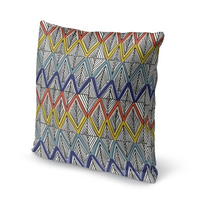 Fenster Throw Pillow Size: 16 x 16