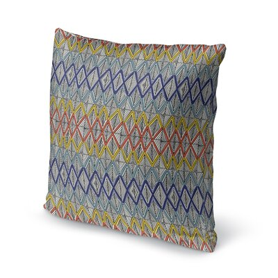 Fenster Geometric Throw Pillow Size: 16 x 16