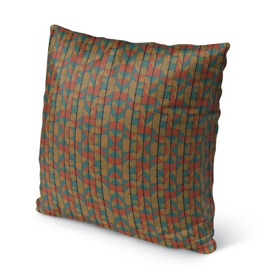 Ferber Outdoor Throw Pillow Size: 16 x 16