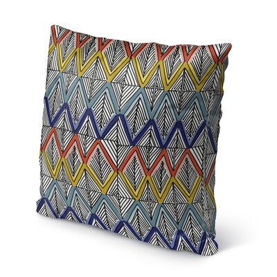 Fenster Outdoor Throw Pillow Size: 16 x 16
