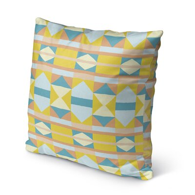 Valenti Outdoor Throw Pillow Size: 16 x 16