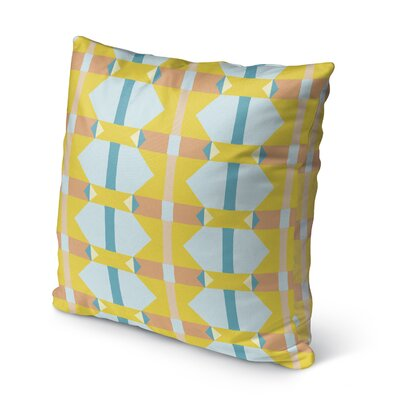 Valenza Outdoor Throw Pillow Size: 16 x 16