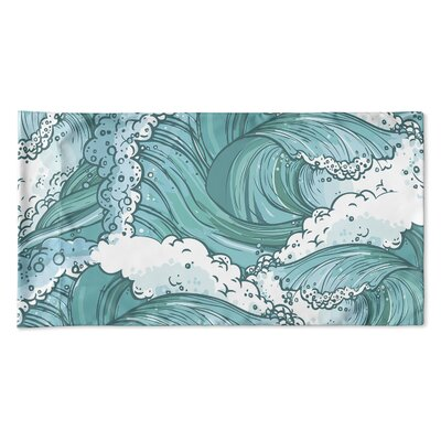 Richelle Wave Pillow Case Size: 20 H x 40 W