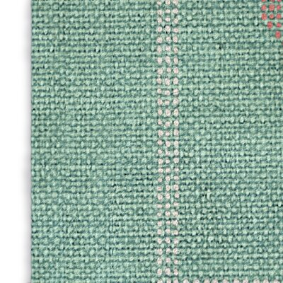 Stellan Green/Pink Area Rug Rug Size: Rectangle 5 x 7