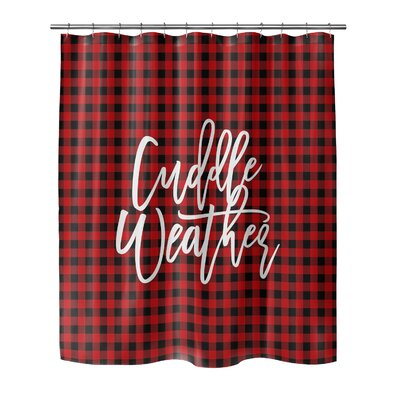 Imes Cuddle Weather Shower Curtain Size: 90 H x 70 W