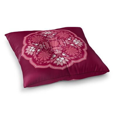 Santa Ana Square Floor Pillow Size: 26 H x 26 W x 12.5 D